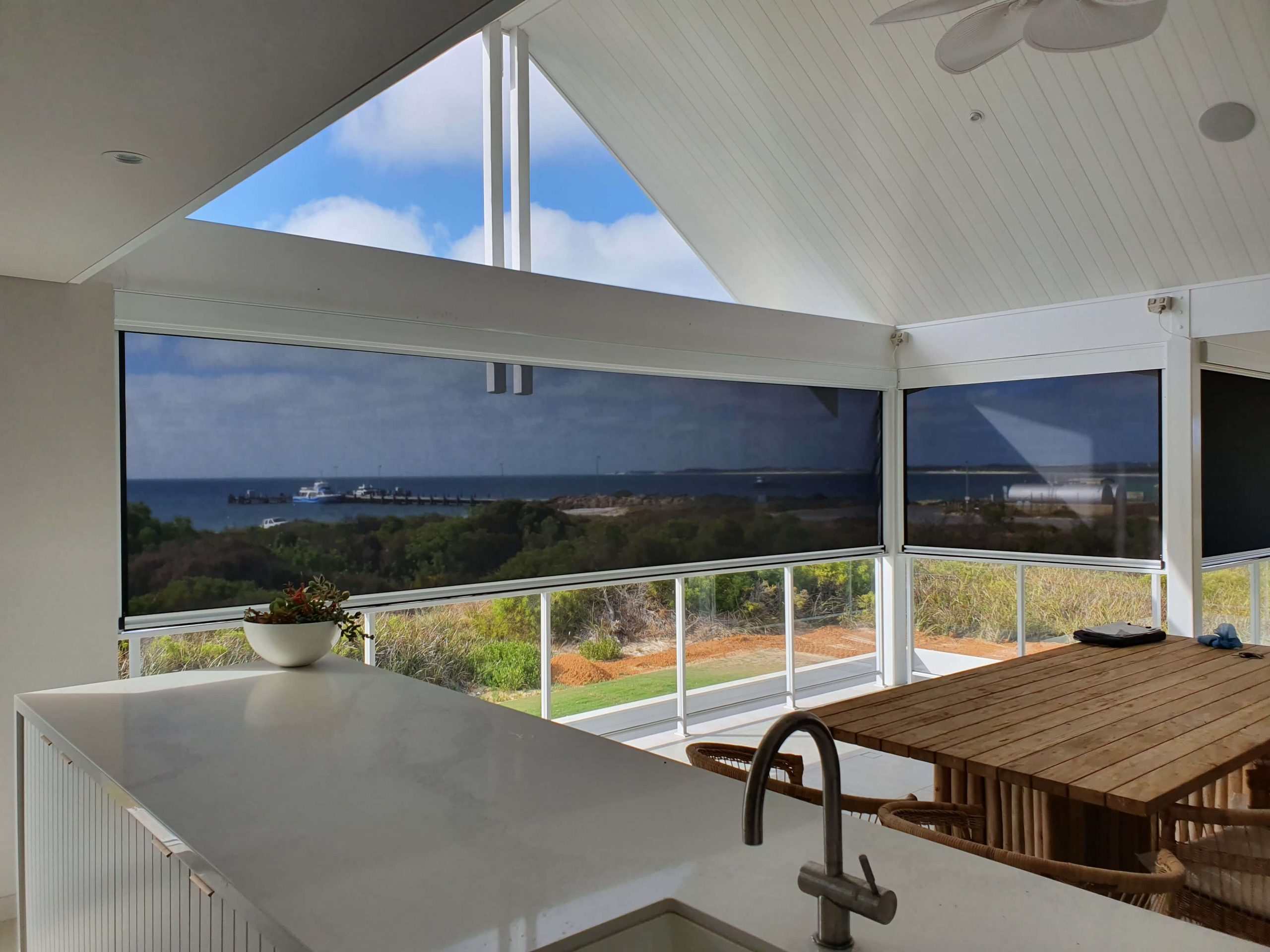 Outdoor Roller Blinds by Alfresco Creations